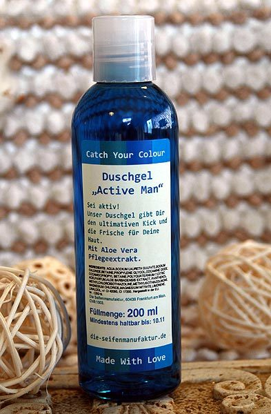 "Duschgel ""Catch your colour"" Active Man"
